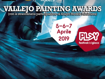 VALLEJO PAINTING AWARDS