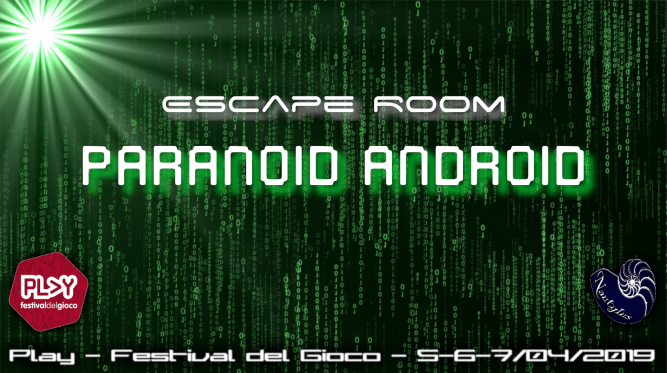Escape Room Paranoid Android